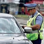 Штрафы за нарушение ПДД останутся прежними