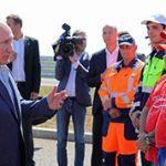 Открытие трассы Таврида в Крыму